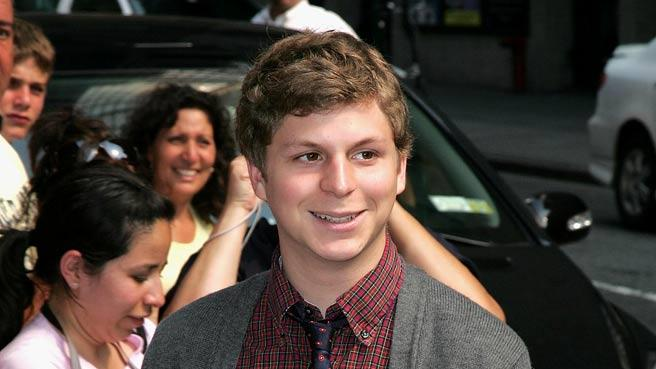 "Michael Cera visits ""The Late Show with David Letterman"" at the Ed Sullivan Theater."