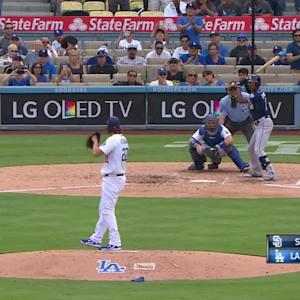 Kershaw records 300th strikeout