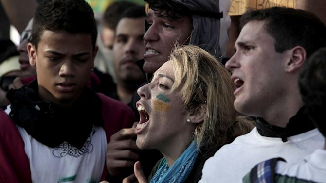 Brazil Confed Cup Protest