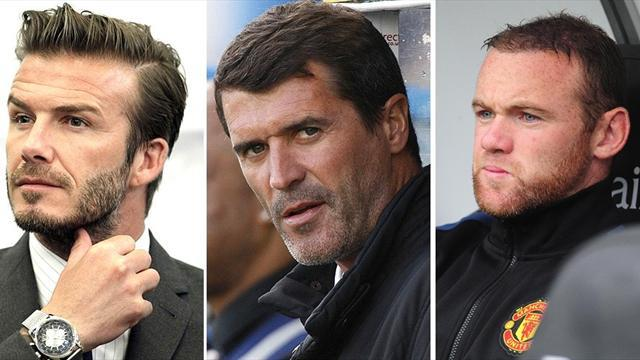 Premier League - Ferguson takes on Beckham, Keane and Rooney in book