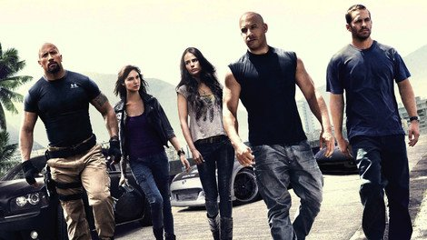 The stars of Fast Five.