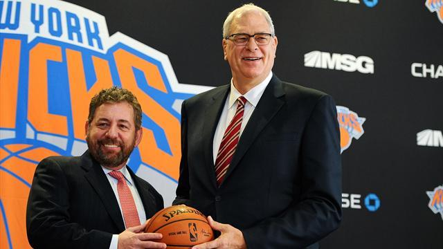 Basketball - Jackson confirmed as Knicks president