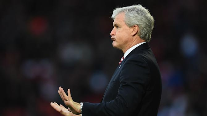 Hughes relieved as FA Cup fortune favours Stoke