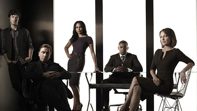"""The cast of """"Lie to Me"""""""