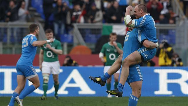 Six Nations - Superb Italy beat Ireland in Rome
