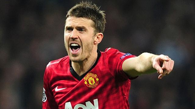 Football - Carrick happy to be role model