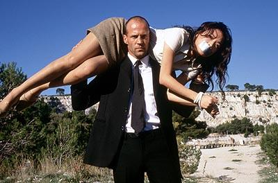 Jason Statham and Shu Qi in 20th Century Fox's The Transporter
