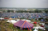 The Glastonbury Festival in 2009