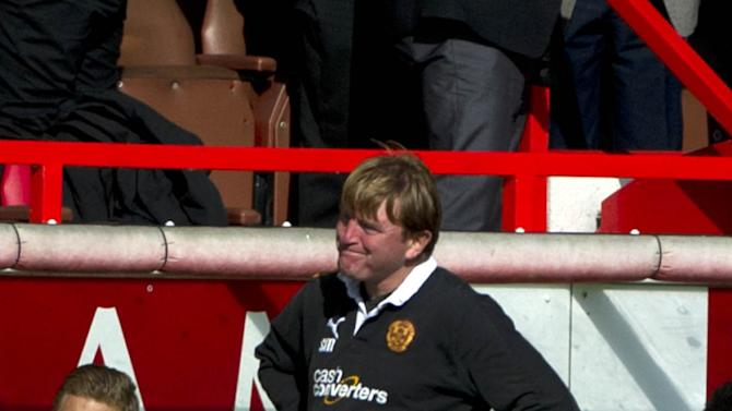 Stuart McCall is not feeling too downcast despite Motherwell blowing a two-goal lead