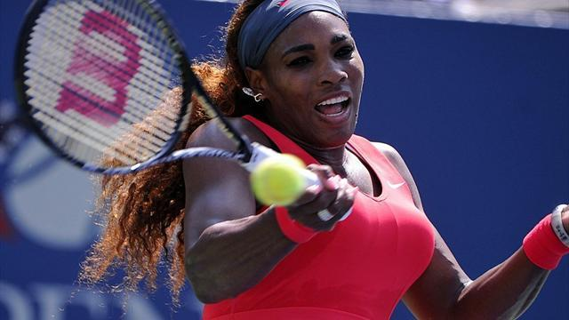 US Open - Williams sets up Azarenka re-match in New York