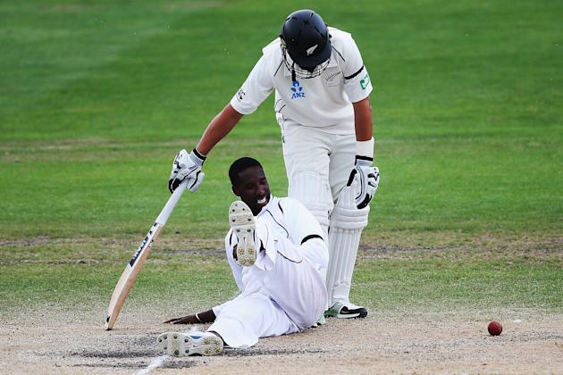 New Zealand v West Indies - First Test: Day 5