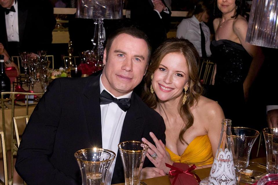 Oscars Governors Ball 2008 John Travolta Kelly Preston