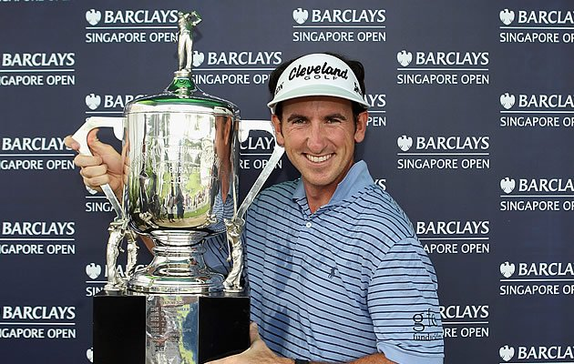Winner of last year's Barclays Singapore Open, Gonzalo Fernandez-Castano from Spain. (Getty Images)