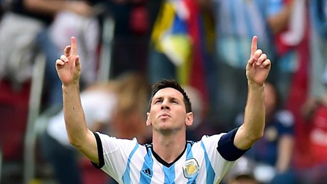 Football - 'Messi is from Jupiter' but stays modest as Argentina win