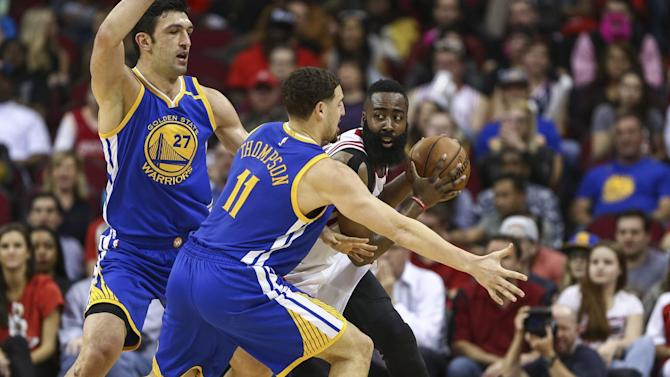 NBA scores 2017: Warriors took away the Rockets' biggest offensive weapon