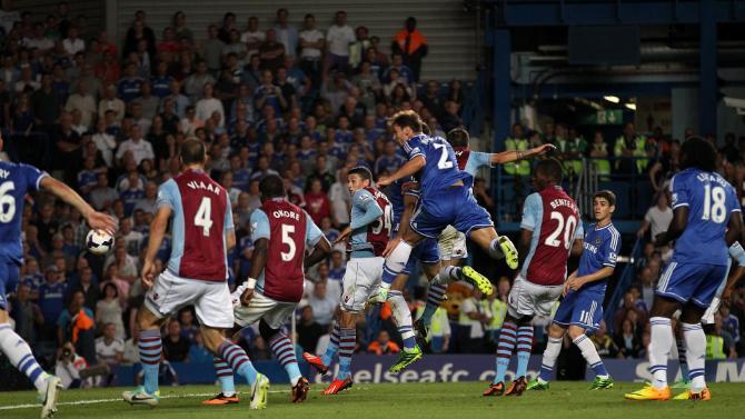 Soccer - Barclays Premier League - Chelsea v Aston Villa - Stamford Bridge