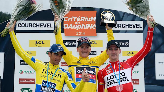 Cycling - Talansky surprise winner of Criterium du Dauphine