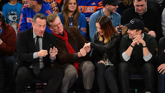 Celebrities Attend The Los Angeles Clippers Vs New York Knicks Game