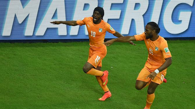 World Cup - Greece, Ivory Coast hope for third time lucky