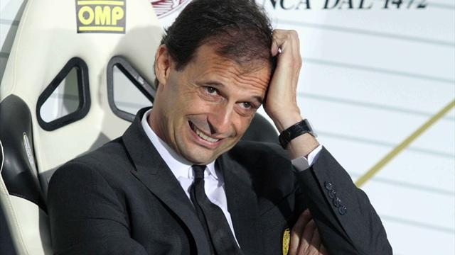 Serie A - Allegri to continue as Milan coach