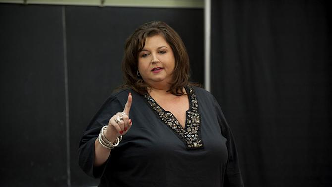 "Abby Lee Miller coaches her dancers in the second season of ""Dance Moms."""