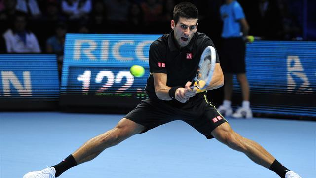 ATP World Tour Finals - Djokovic ends Federer dominance in London