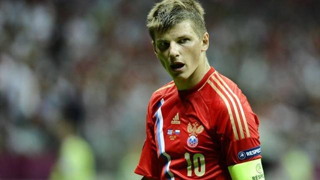 Capello snubs Arshavin