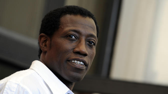 "Wesley Snipes is currently in theaters in ""The Expendables 3."""