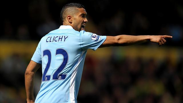 Premier League - Clichy signs new Man City deal