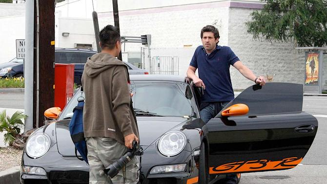 Dempsey Patrick With Car