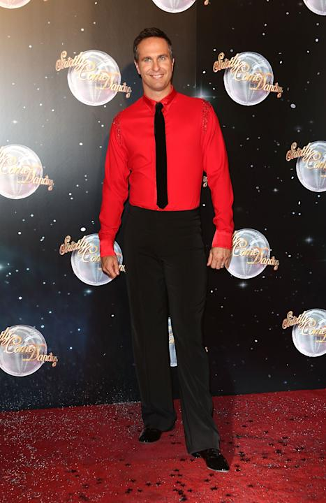 Michael Vaughan on Strictly Come Dancing