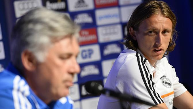 Modric: Ancelotti is my favourite Madrid manager