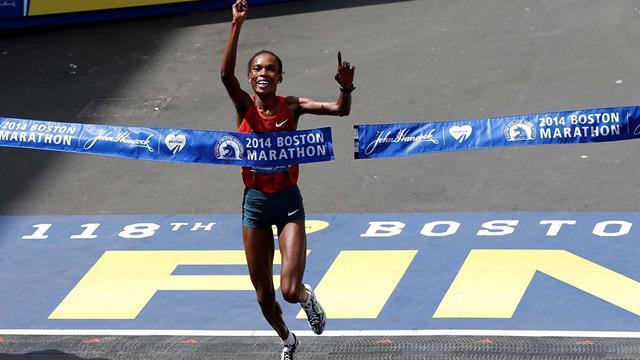 Athletics - Kenya's Rita Jeptoo retains Boston Marathon title