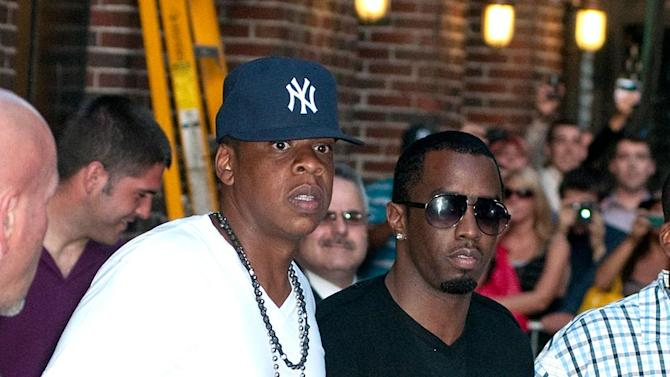 JayZ SeanP Diddy Combs Letterman