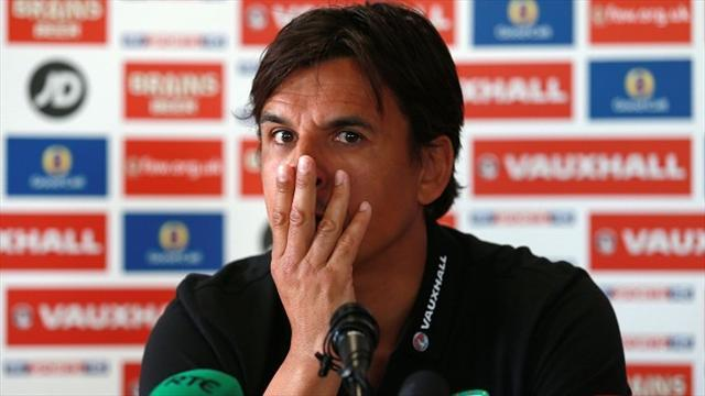 World Cup - Coleman finally makes it to Macedonia