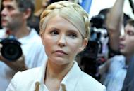 Ukraine has shelved a summit of Central European leaders it was to host this week after most participants pulled out in protest over the treatment of jailed opposition leader Yulia Tymoshenko, seen here after her trial in October 2011. Tymoshenko was sentenced to seven years in jail for abuse of office