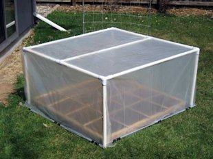 Add A PVC Greenhouse