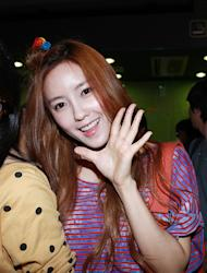"[Photo] T-ara's Hyomin ""Great to be back in Korea!"""
