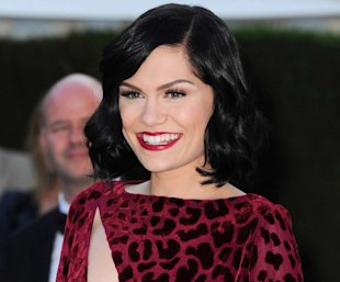 Cannes 2012: Jessie J Hits the Red Carpet Working Red Lips and Retro Waves