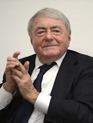 French film-maker and producer Claude Lanzmann pictured on February 13, 2013 during the 63rd Berlin film festival. Lanzmann was born in Paris in 1925 to Jewish parents, fought in the French resistance against the Germans and later taught at the then newly founded Free University in Berlin after World War II