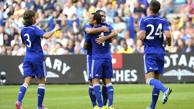 Friendly match - Fabregas impresses as Chelsea ease past Vitesse