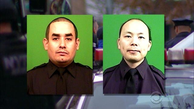Reaction to the fatal shootings of 2 NYC police officers