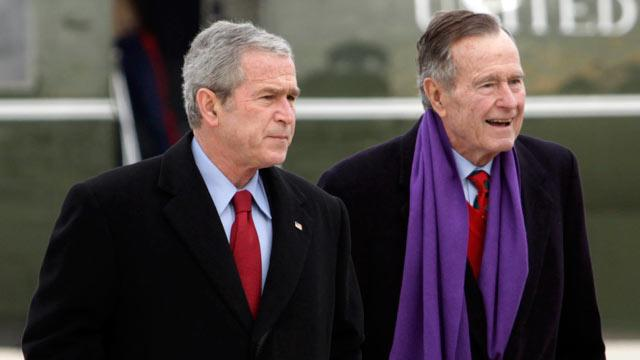 Ex-President Bush Gets Hacked