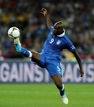 Mario Balotelli (pictured) is a 'fascinating' player to manage, according to Cesare Prandelli