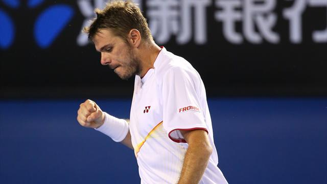 Australian Open - Bitter-sweet victory for new Swiss number one Wawrinka