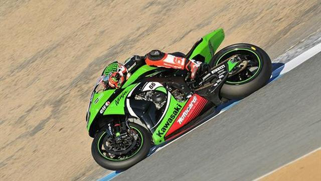 Superbikes - Laguna WSBK: Sykes wins first-race crash-fest