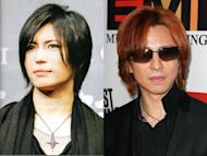 Gackt and Yoshiki pay respects