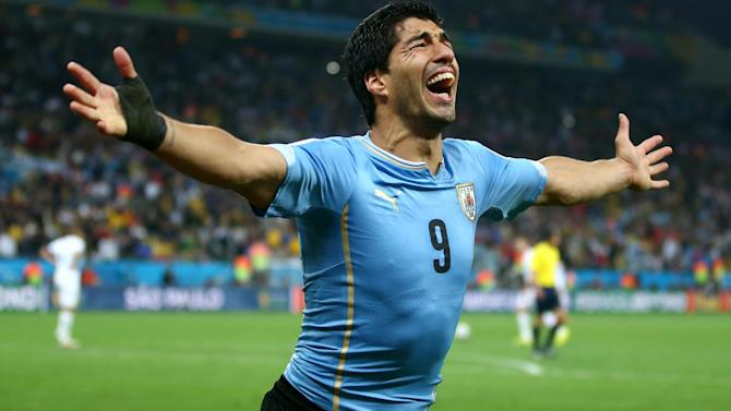 World Cup - Suarez-dependence a risk for Uruguay