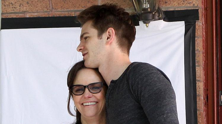 Andrew Garfield and Sally Field at