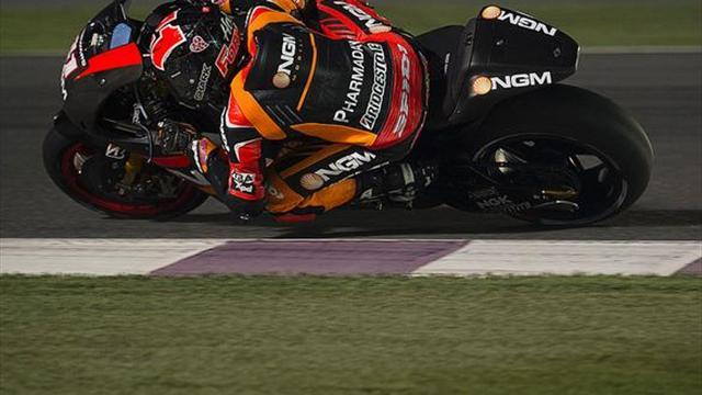 Motorcycling - Qatar MotoGP test: Espargaro close to pole pace